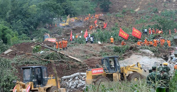 Massive landslide kills 11, leaves 12 missing in SW China
