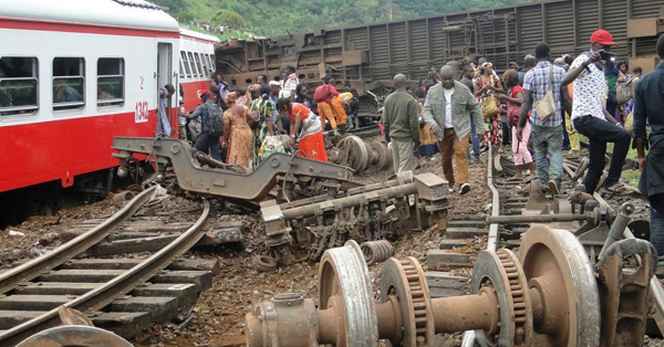 Train derailment in Cameroon kills 63