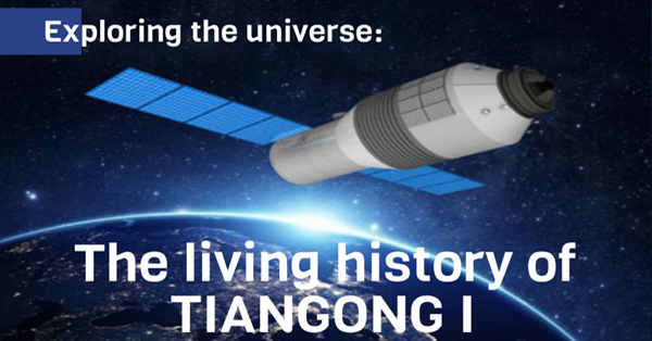 Exploring the universe: The living history of Tiangong I