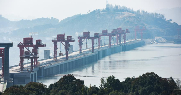 Three Gorges project finishes water storage test