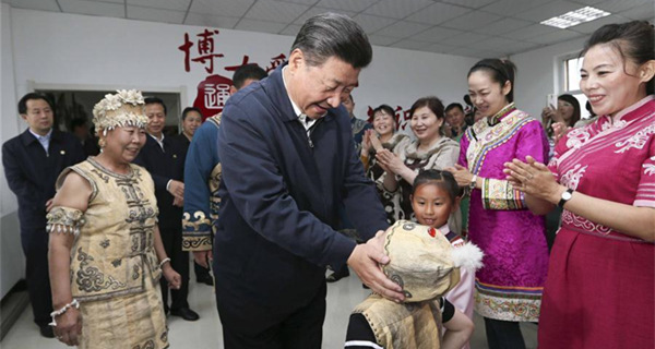 President Xi makes inspection tour in Heilongjiang