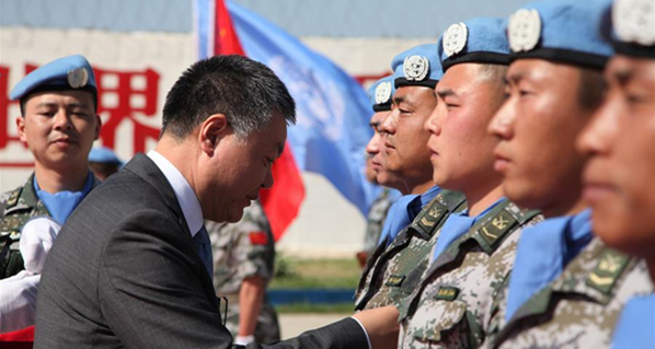 Chinese peacekeepers to Lebanon awarded UN Peace Medal of Honor