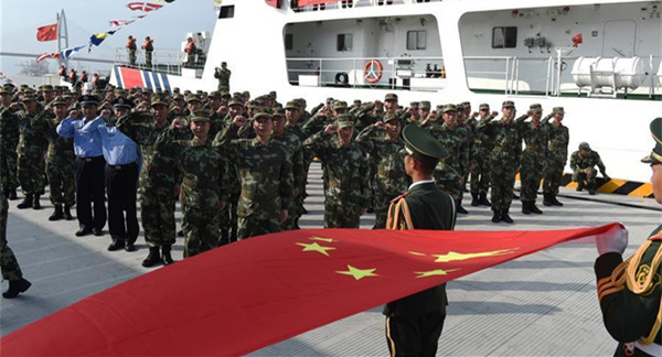 Marine security mission for G20 summit launched in Zhejiang