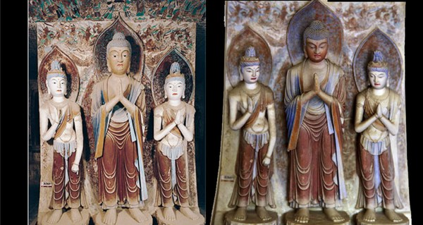 Digital technology helps preserve Mogao Grottoes