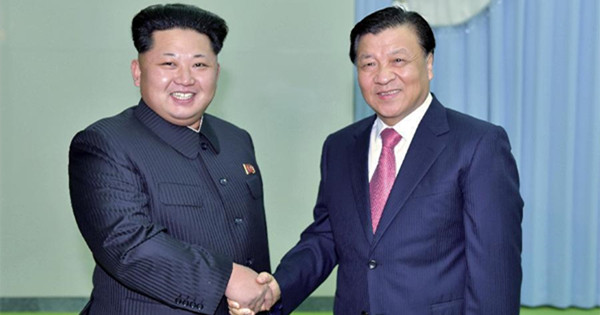 Senior CPC leader meets with DPRK