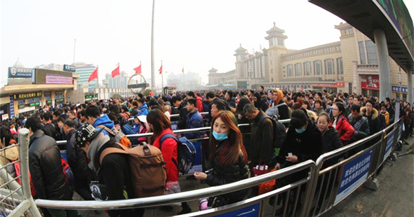 Travel peak seen as Spring Festival holiday comes to end