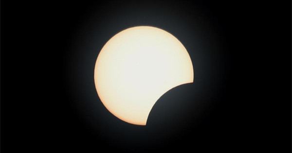 Solar eclipse occurs in Southeast Asia