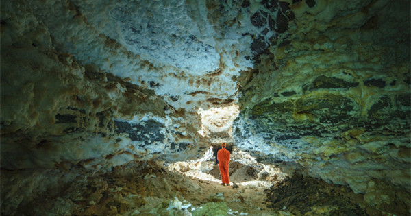 SW China karst caves measure almost 190 kilometers