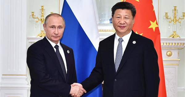 President Xi meets Russian President Putin in Uzbekistan