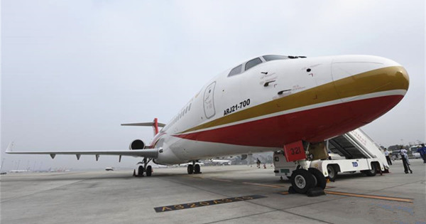 ARJ21 makes maiden commercial flight from Chengdu to Shanghai