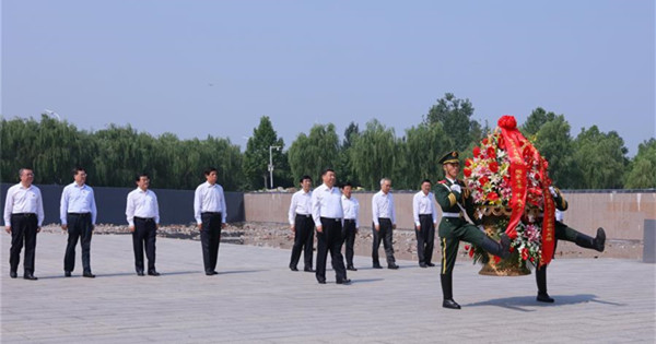 President Xi makes inspection tour in Tangshan, Hebei