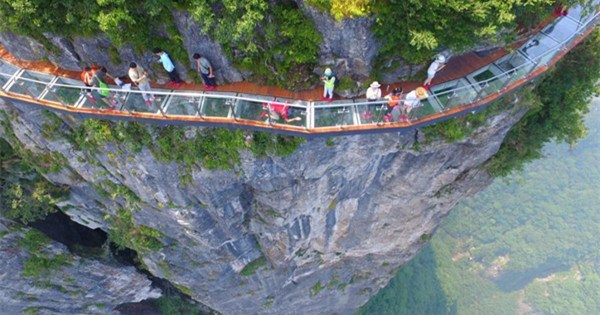 Look down if you dare: 14 of world