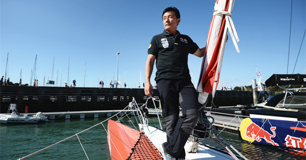 Guo Chuan, missing Chinese sailor who sets many records