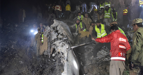 PIA plane crash kills all 48 people on board, including one Chinese