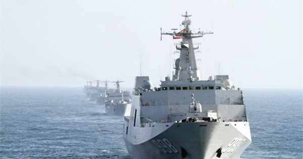 PLA navy conducts 5-day training in South China Sea