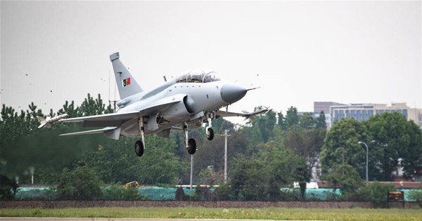 Maiden flight for dual-role fighter