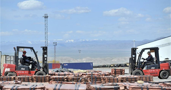Alataw Pass Station: One of the busiest land ports on modern Silk Road