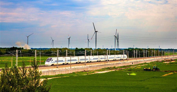Railway linking Changchun, Baicheng and Ulanhot in test operation