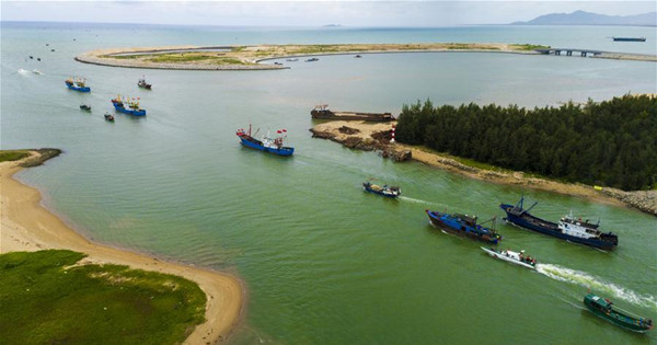 Fishing season of South China Sea starts