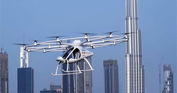 Dubai tests self-flying taxi
