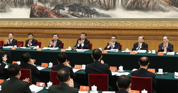 Xi presides over 2nd meeting of presidium of 19th CPC National Congress