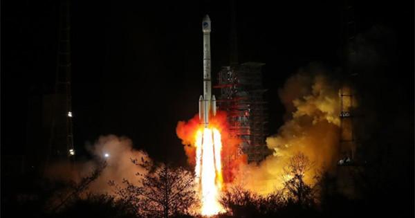 China sends twin BeiDou-3 navigation satellites into space