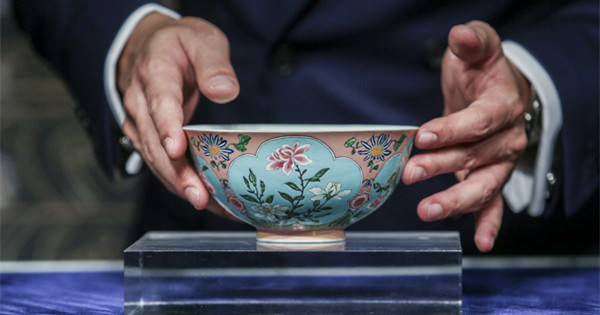 Rare Qing Dynasty bowl sells for HK$239 million