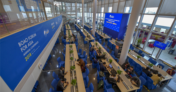 Boao Forum for Asia opens press center