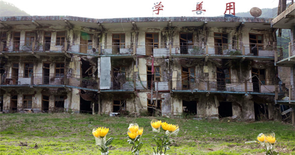 Ruins reveal earthquake disaster in Wenchuan