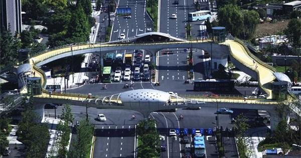 Ecological overpass built in Hangzhou