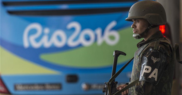 Brazil beefs up security during Rio 2016