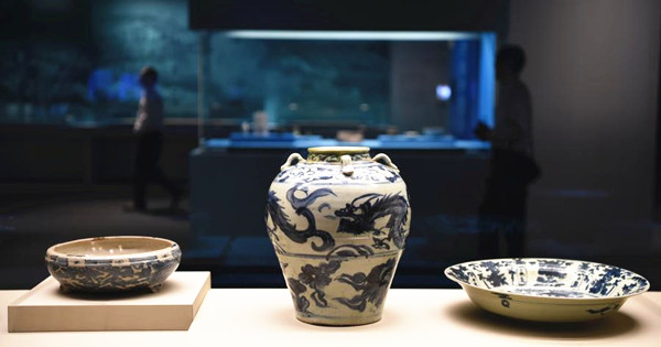 Preview of special exhibition of Maritime Silk Road held in HK
