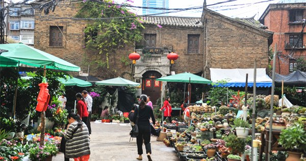 Qing Dynasty street may disappear in downtown Kunming