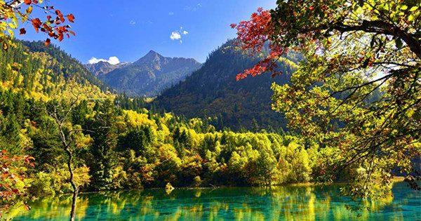 Revisiting natural wonders of quake-hit Jiuzhaigou