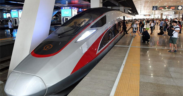 Yearender: Major Chinese high speed railways opened in 2017