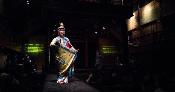 Peking Opera performer on rise to fame
