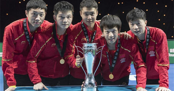 China win ITTF Team World Cup titles