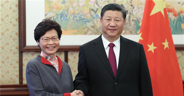 Xi underscores unswerving adherence to