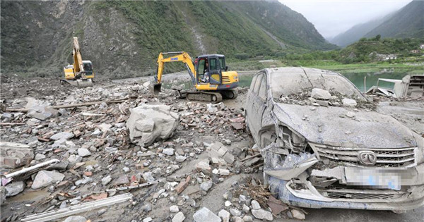 Rescue underway after landslide hits SW China