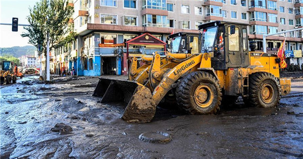 Rebuilding, restoration work begins in NE China