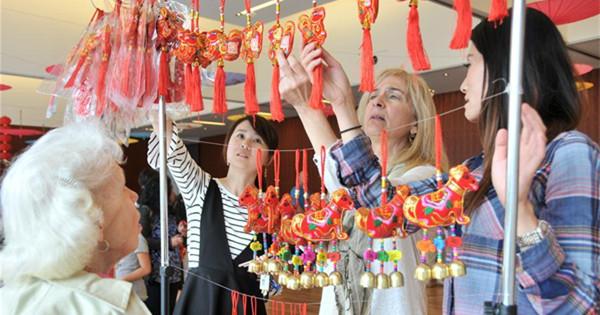 中国农历新年的庆祝活动在德克萨斯举行