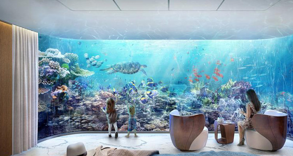 Ultra-luxurious underwater homes built in Dubai