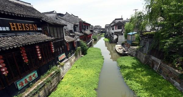 Scenery of Xitang ancient town in Zhejiang