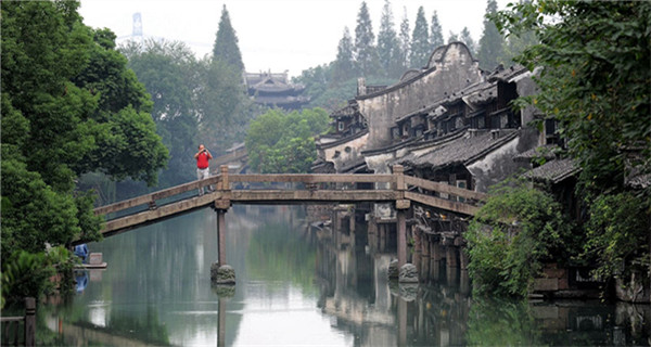 Idyllic scenery of Wuzhen