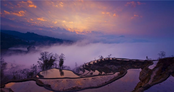 Popular spots in China to photograph seas of clouds