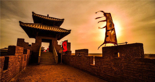 Ancient stronghold Yangguan Pass now a tourist attraction
