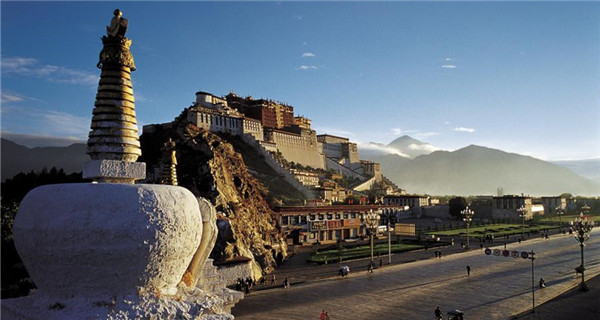 Potala Palace from different angles