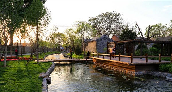 Waterside park hidden deep inside Beijing hutongs to open soon