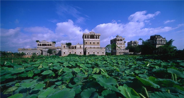 UNESCO-listed watchtowers of Kaiping