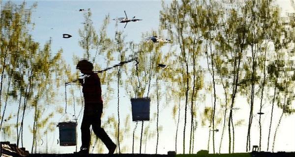 Farmers busy with planting around Guyu solar term